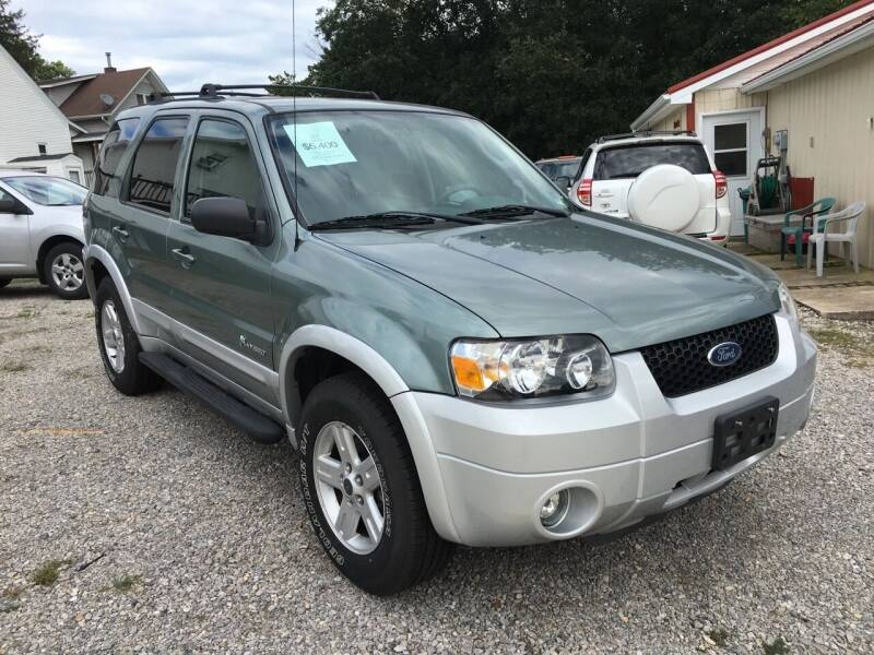 2005 Ford Escape for sale at Woody's Auto Sales in Jackson MO