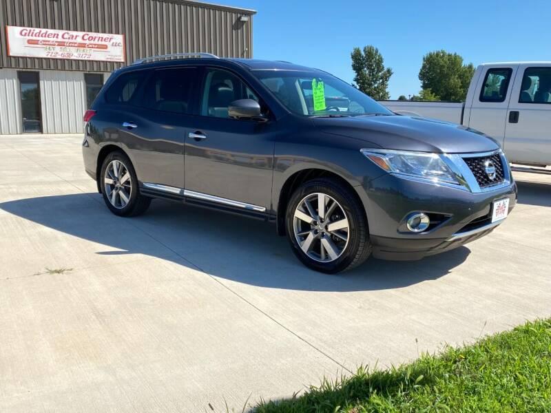 2014 Nissan Pathfinder for sale at GLIDDEN CAR CORNER in Glidden IA