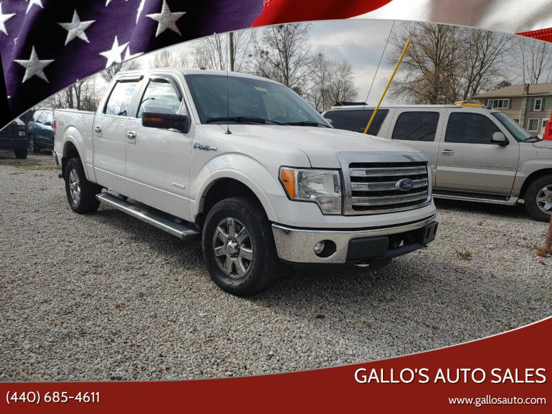2013 Ford F-150 for sale at Gallo's Auto Sales in North Bloomfield OH