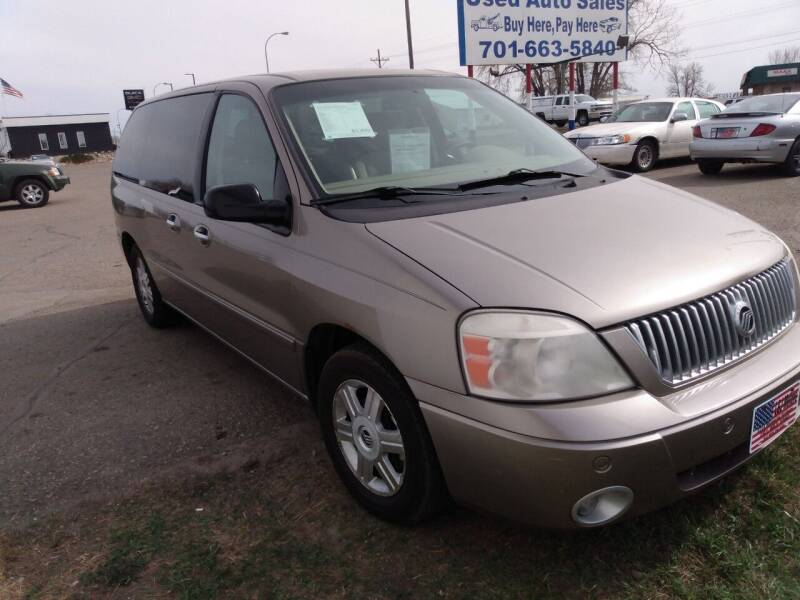 2004 Mercury Monterey for sale at L & J Motors in Mandan ND