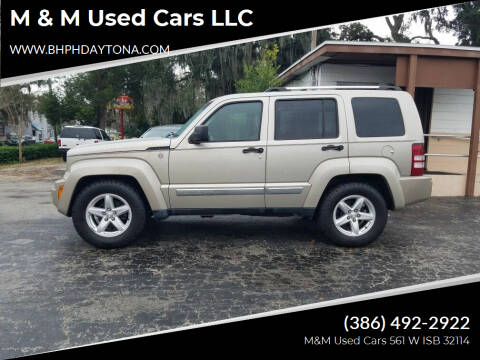 2011 Jeep Liberty for sale at M & M Used Cars LLC in Daytona Beach FL