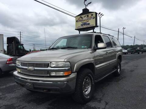 2001 Chevrolet Suburban for sale at A & D Auto Group LLC in Carlisle PA