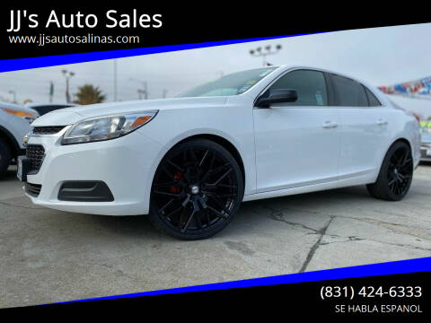 2016 Chevrolet Malibu Limited for sale at JJ's Auto Sales in Salinas CA