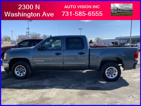 2009 GMC Sierra 1500 for sale at Auto Vision Inc. in Brownsville TN