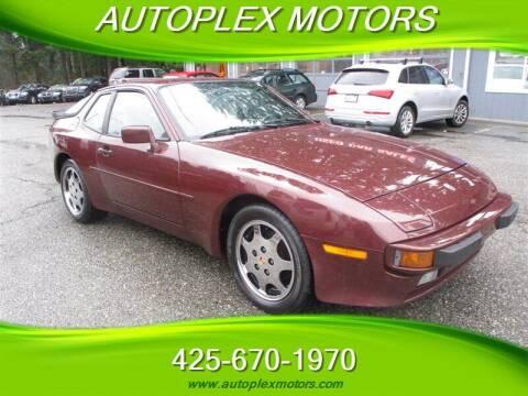1987 Porsche 944 for sale at Autoplex Motors in Lynnwood WA