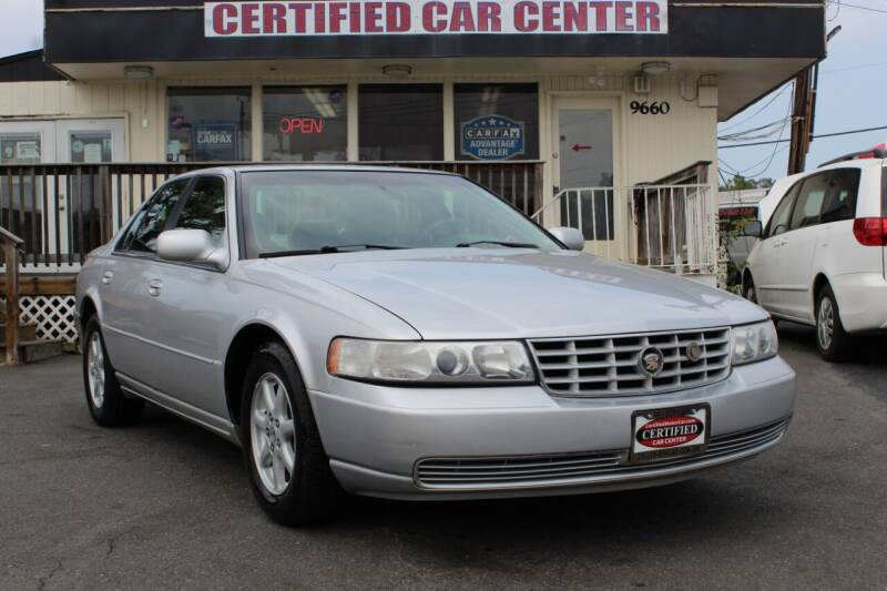 2001 Cadillac Seville for sale at CERTIFIED CAR CENTER in Fairfax VA