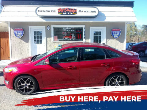 2015 Ford Focus for sale at BIG DADDY'S  A.L.D. in Winston Salem NC