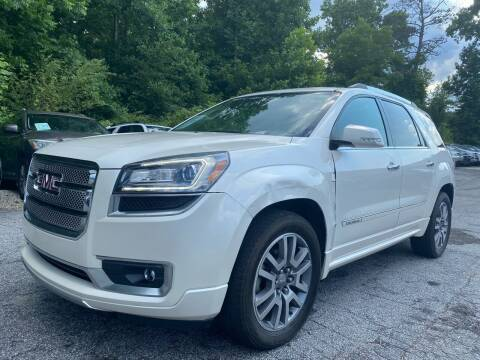 2014 GMC Acadia for sale at Car Online in Roswell GA
