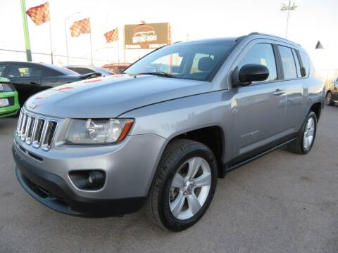 2016 Jeep Compass for sale at Moving Rides in El Paso TX