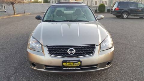 2005 Nissan Altima for sale at KING MOTORS AUTO SALES, INC in Newark NJ