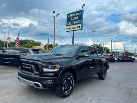 2021 RAM Ram Pickup 1500 for sale at Michaels Autos in Orlando FL