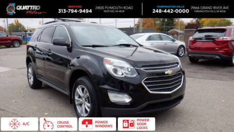 2016 Chevrolet Equinox for sale at Quattro Motors 2 - 1 in Redford MI