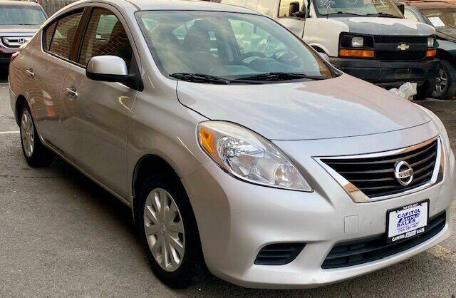 2013 Nissan Versa for sale at Capitol Auto Sales Inc in Manassas VA