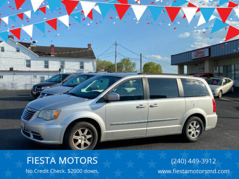 2011 Chrysler Town and Country for sale at FIESTA MOTORS in Hagerstown MD