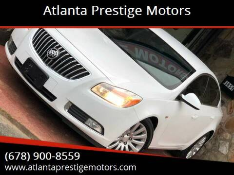2011 Buick Regal for sale at Atlanta Prestige Motors in Decatur GA