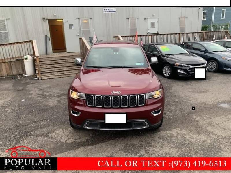 2019 Jeep Grand Cherokee for sale at Popular Auto Mall Inc in Newark NJ