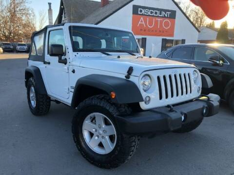 2018 Jeep Wrangler JK for sale at Discount Auto Brokers Inc. in Lehi UT