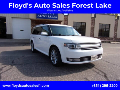 2017 Ford Flex for sale at Floyd's Auto Sales Forest Lake in Forest Lake MN
