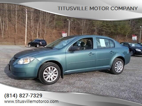 2010 Chevrolet Cobalt for sale at Titusville Motor Company in Titusville PA