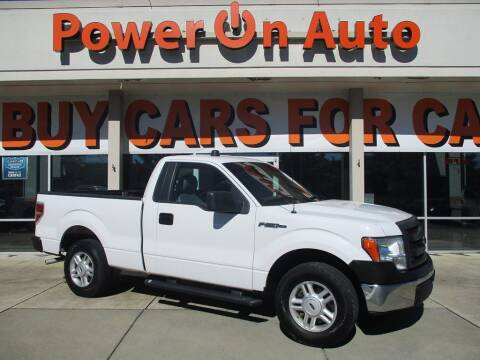 2014 Ford F-150 for sale at Power On Auto LLC in Monroe NC