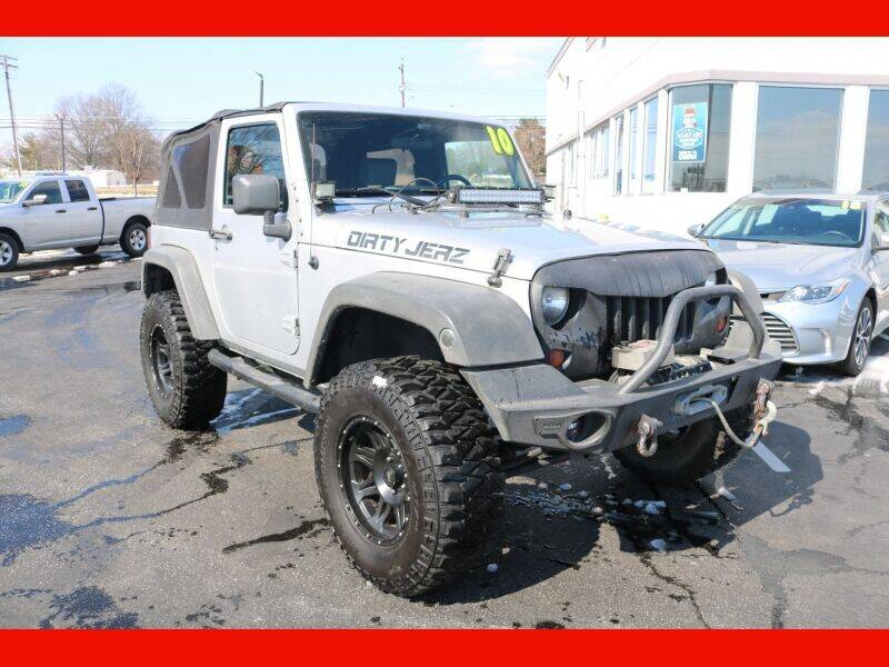 2010 Jeep Wrangler for sale at AUTO POINT USED CARS in Rosedale MD