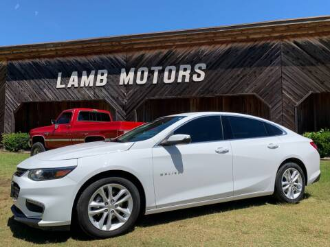 2018 Chevrolet Malibu for sale at LAMB MOTORS INC in Hamilton AL