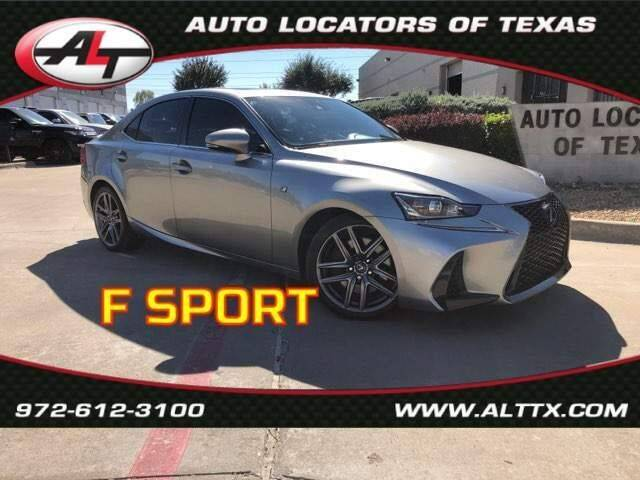 2017 Lexus IS 200t for sale at AUTO LOCATORS OF TEXAS in Plano TX
