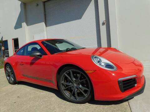 2018 Porsche 911 for sale at Conti Auto Sales Inc in Burlingame CA