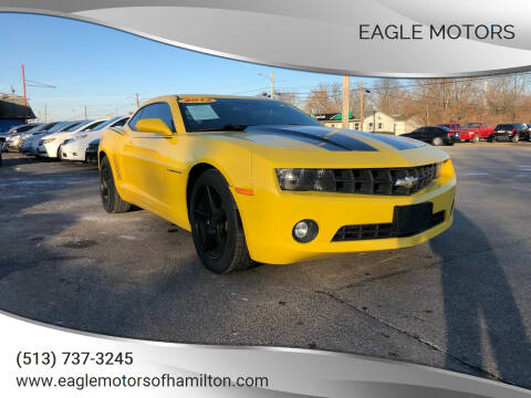 2013 Chevrolet Camaro for sale at Eagle Motors in Hamilton OH