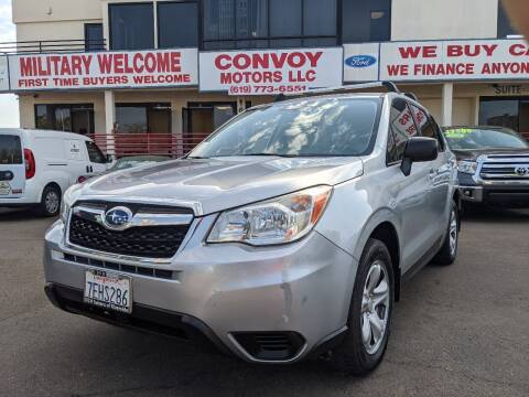 2014 Subaru Forester for sale at Convoy Motors LLC in National City CA