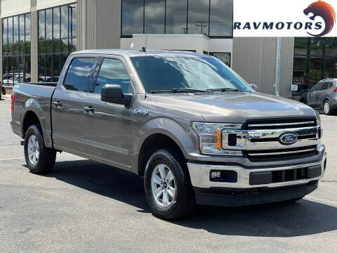 2019 Ford F-150 for sale at RAVMOTORS 2 in Crystal MN