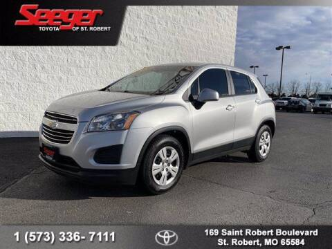 2015 Chevrolet Trax for sale at SEEGER TOYOTA OF ST ROBERT in St Robert MO