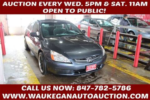 2006 Honda Accord for sale at Waukegan Auto Auction in Waukegan IL