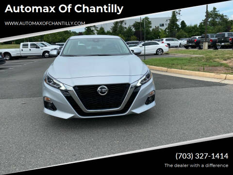2019 Nissan Altima for sale at Automax of Chantilly in Chantilly VA