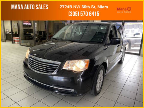 2016 Chrysler Town and Country for sale at MANA AUTO SALES in Miami FL