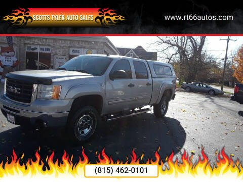 2007 GMC Sierra 2500HD for sale at Scotts Tyler Auto Sales in Wilmington IL