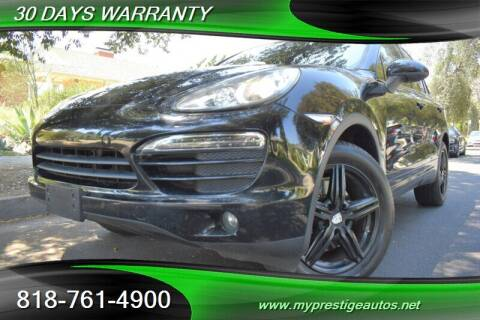 2011 Porsche Cayenne for sale at Prestige Auto Sports Inc in North Hollywood CA
