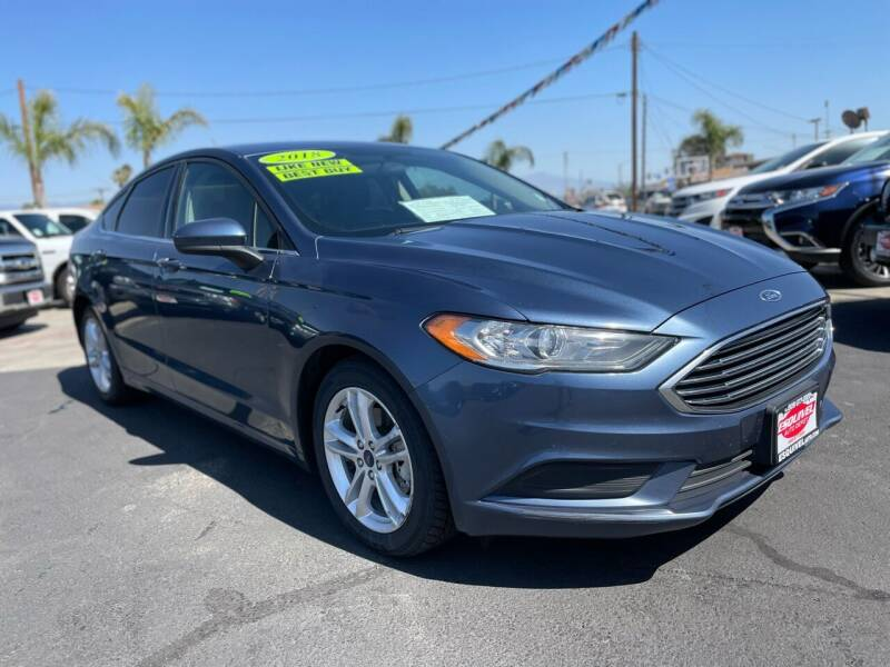 2018 Ford Fusion for sale at Esquivel Auto Depot in Rialto CA