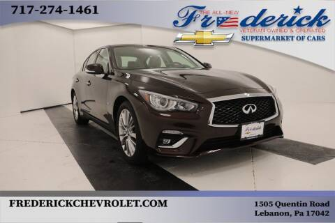 2018 Infiniti Q50 for sale at Lancaster Pre-Owned in Lancaster PA