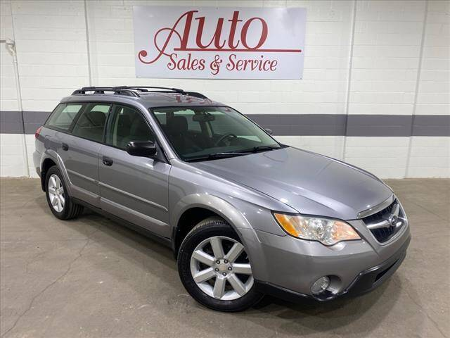 2009 Subaru Outback for sale at Auto Sales & Service Wholesale in Indianapolis IN