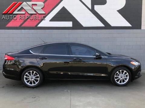2017 Ford Fusion for sale at Auto Republic Fullerton in Fullerton CA