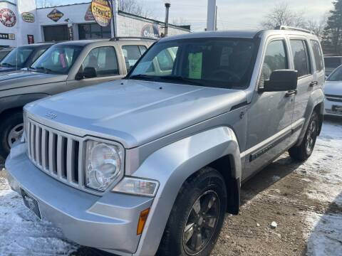2008 Jeep Liberty for sale at Nelson's Straightline Auto - 23923 Burrows Rd in Independence WI
