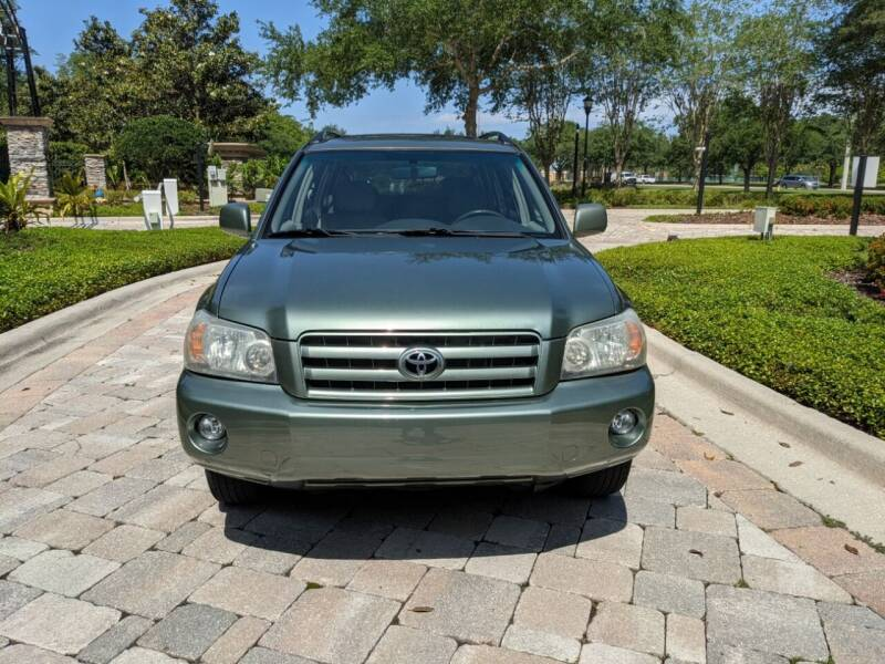 2004 Toyota Highlander for sale at M&M and Sons Auto Sales in Lutz FL