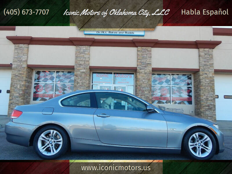 2007 BMW 3 Series for sale at Iconic Motors of Oklahoma City, LLC in Oklahoma City OK