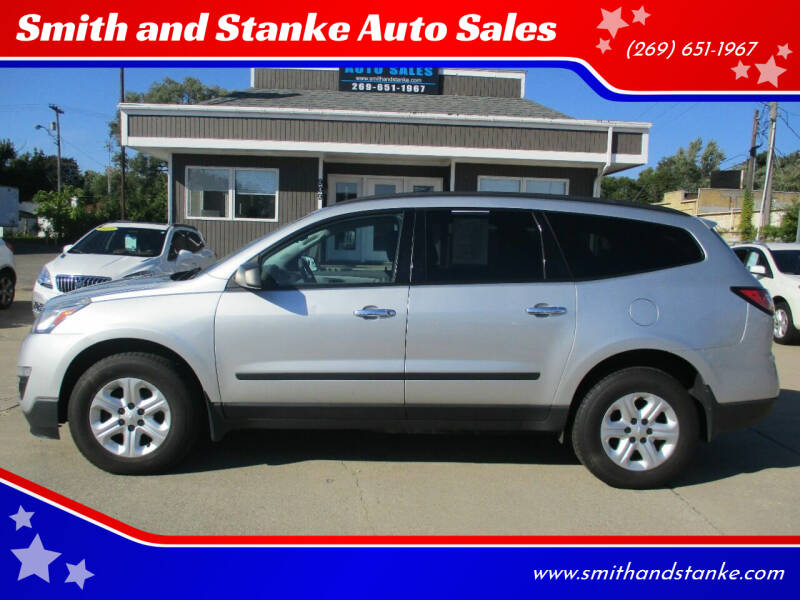 2014 Chevrolet Traverse for sale at Smith and Stanke Auto Sales in Sturgis MI