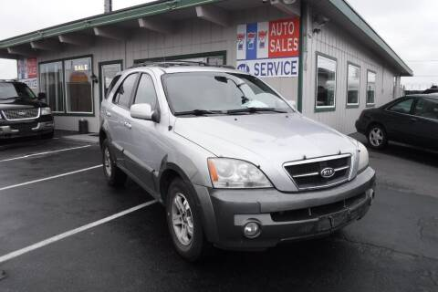 2006 Kia Sorento for sale at 777 Auto Sales and Service in Tacoma WA