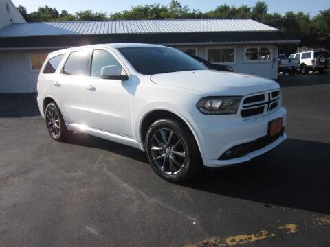 2018 Dodge Durango for sale at JANSEN'S AUTO SALES MIDWEST TOPPERS & ACCESSORIES in Effingham IL