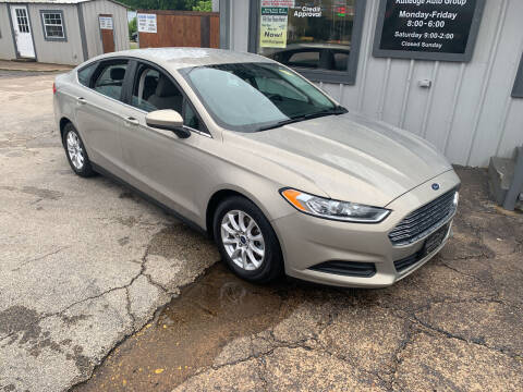 2016 Ford Fusion for sale at Rutledge Auto Group in Palestine TX