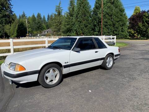 1989 Ford Mustang for sale at Classic Car Addiction in Marysville WA