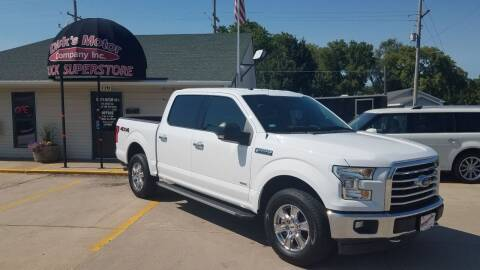 2017 Ford F-150 for sale at DICK'S MOTOR CO INC in Grand Island NE